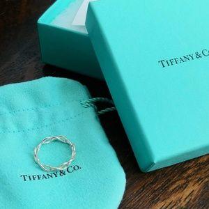 Tiffany Infinity Narrow Band Ring